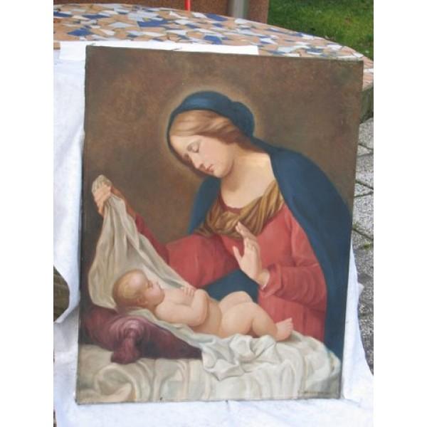 Prikaz očiščene ali restavrirane slike - Grafično obdelana slika