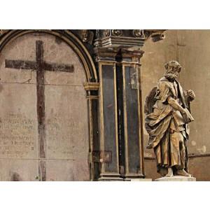 Predogled obnove cerkvenega oltarja - Grafično obdelana slika