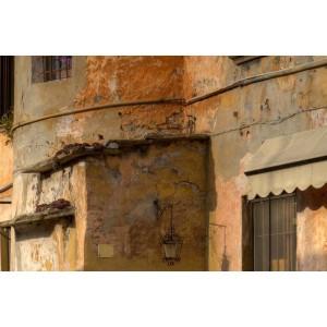 Prikaz obnovljene fasade, barve, motivov itd. - Grafično obdelana slika