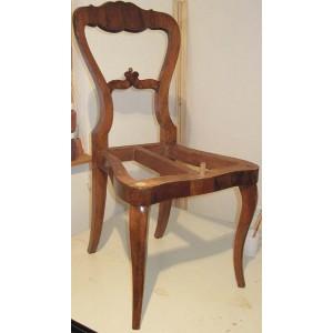 Restavriranje lesenih stolov