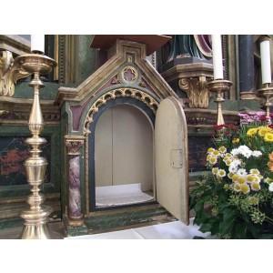 Zaplinjevanje elementov oltarjev - po želji naročnika