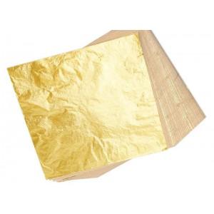 Zlati lističi (zlato) - 23k v blokcu 25 kosov brez podlage