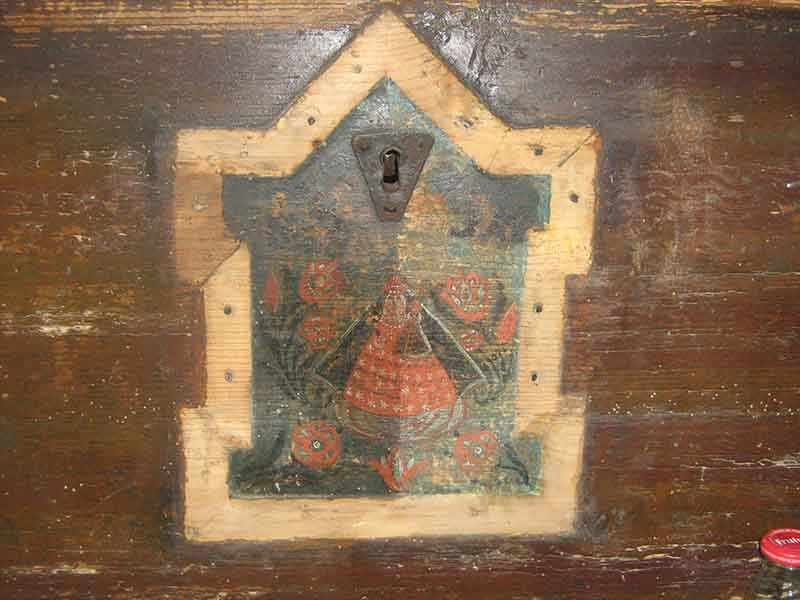 Kmečka skrinja iz 1815